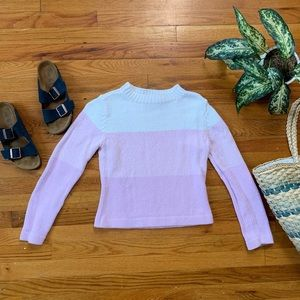 Vintage Ombre Pink Sweater